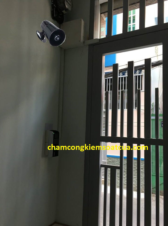 khóa cửa văn tay cho dãy phòng trọ